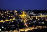 Modica al tramonto. San Giorgio e la spettacolare scalinata  - Modica (1890 clic)
