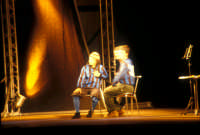 Ficarra e Picone - performance a Marina di Modica - Agosto 2003  - Marina di modica (1694 clic)
