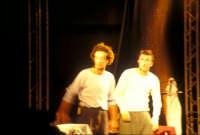 Ficarra e Picone - performance a Marina di Modica - Agosto 2003  - Marina di modica (1748 clic)