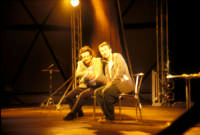 Ficarra e Picone - performance a Marina di Modica - Aogosto 2003  - Marina di modica (2385 clic)