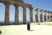 Il Tempio di Selinunte  - Selinunte (2000 clic)