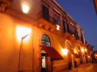 L'Hotel Palazzo Failla a Modica Alta di notte.  - Modica (4505 clic)