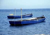 Tonnara di Bonagia - le barche dei tonnaroti pronte alla mattanza  - Bonagia (2619 clic)