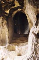 Insediamento rupetre vallone Canalotto (età bizantina)  - Calascibetta (4919 clic)