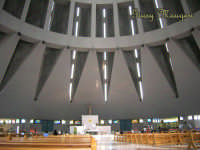 Interno del Santuario della Madonna delle Lacrime  - Siracusa (2333 clic)