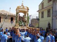 26 Luglio FESTA DI S.ANNA Trittico con Maria S.S. Gesý bambino e S.Anna patrona di Floresta la processione  - Floresta (6616 clic)