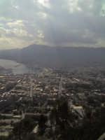 Veduta a volo d' uccello dell' intero centro storico di Palermo e del porto, la CALA. PALERMO Aton A