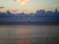 vela al largo tramonto autunnale con vela al largo  - Cefalù (2398 clic)