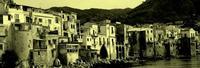 colorazione insolita per un panorama famoso colorazione insolita per un panorama famoso  - Cefalù (3502 clic)
