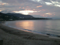 tramonto autunnale nel golfo di Cefalu' (727 clic)