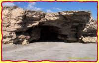 VENDICARI-CITTADELLA:grotta con affaccio sul mare  - Vendicari (2096 clic)