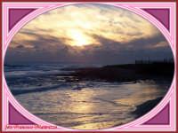 tramonto sul mare  - Marina di ragusa (2801 clic)