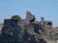 (veduta dal mare)  - Aci castello (1718 clic)