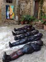 Giuseppe Sirni, 100% Human - Made in Africa, Installazione  - Mistretta (5832 clic)