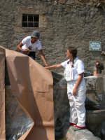 Giuseppe Sirni - Mostra mistretta pulita - preparazione dell'installazione  - Mistretta (3854 clic)