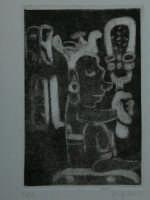 Giuseppe Sirni - senza titolo- stampa - maniera nera  - Mistretta (3188 clic)