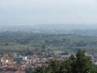 Veduta del paese con un pò di nebbia in lontananza.  - Zafferana etnea (1816 clic)