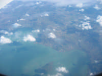 Veduta dall'aereo spettacolare, almeno per me.  - Catania (2204 clic)
