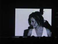 Concerto Irene Grandi 2008. Fotogrtafia riprodotta dal megaschermo.  - Catania (1197 clic)