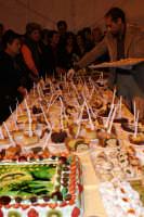 34° Sagra della Castagna 2008 - Il concorso dei Dolci - la degustazione  - Montagnareale (2284 clic)