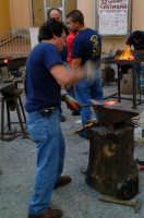 32° Sagra della Castagna - l'arte del ferro battuto.  - Montagnareale (2270 clic)