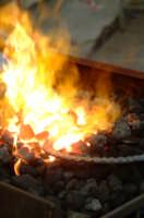 32° Sagra della Castagna - l'arte del ferro battuto.  - Montagnareale (2093 clic)