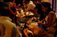32° Sagra della Castagna - La STAND dei panini con porchetta di Bruno.  - Montagnareale (2915 clic)