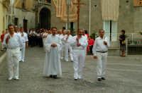 Montagnareale 15.08.2006 Processione Maria S.S. delle Grazie, I FLAGELLANTI  - Montagnareale (3164 clic)