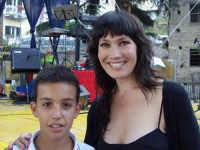 Kay Rush con Gabriele De Luca a Montagnareale - Luglio 2007  - Montagnareale (6879 clic)