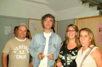 Gaetano Curreri degli STADIO dopo il concerto a Montagnareale con Sebastiano Rasi, Santina Spanò e Angela Sidoti  - Montagnareale (4806 clic)