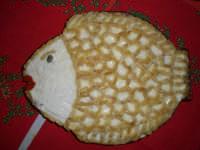 Pesce finto (a base di giardiniera, maionese e pinoli)  - Paternò (9555 clic)