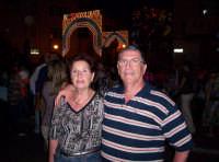 Addobbo luminoso in una strada del Paese con la scritta W SS ADDOLORATA in occasione della festa della Madonna Addolorata  16-09-07   - Aspra (4321 clic)
