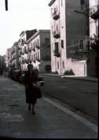 Via Giacomo Serpotta nel 1958  - Palermo (3179 clic)