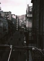 Via Giovanni Aurispa nel 1958  - Palermo (3399 clic)