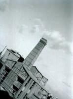 Cementificio in via Malaspina visto da Via Giovanni Aurispa nel 1958 PALERMO Ettore Grifasi