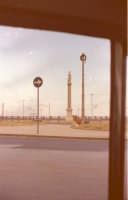 Colonna statuaria con la statua dell'immacolata vista da Via VI Aprile nel 1967  - Catania (2363 clic)