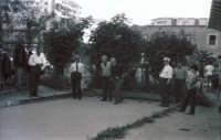 Giuoco delle bocce nel 1960  - Palermo (3294 clic)