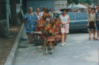 Taxi folkoristico, anno 1995  - Siracusa (3470 clic)