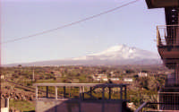 Veduta dell'Etna nel 1978  - Misterbianco (5199 clic)
