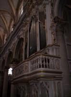 Interno della Chiesa di S. Giorgio (Organo musicale) 02-06-07  - Modica (2343 clic)