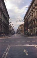 Via Etnea con l'incrocio di Via Vitt.Emanuele  nel 1967  - Catania (2219 clic)