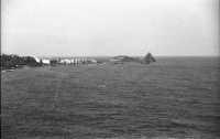 Panorama di Acitrezza vista dal belvedere di  Acicastello nel 1967  - Aci trezza (3134 clic)