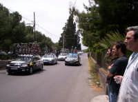91° Giro ciclistico d'Italia - gruppo di auto-assistenza al seguito dei corridori allo Stradale dei Pioppi a Paternò 12-05-08  - Paternò (3202 clic)