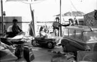 Giostrina ad Acitrezza nel 1967  - Aci trezza (3340 clic)
