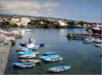 Vista del porticciolo di Ognina  - Catania (3031 clic)