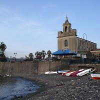 La veduta della spiaggia di stazzo piccolo paesino nei pressi di Acireale  - Stazzo di acireale (12355 clic)