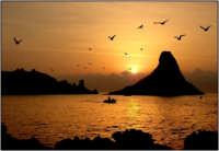 tramonto  - Aci trezza (6305 clic)