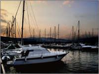 Il porto turistico  al calar del sole  - Riposto (4637 clic)