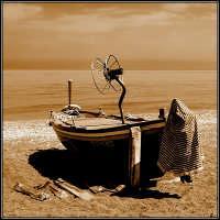 In secca sulla spiaggia di Giarre  - Giarre (4619 clic)