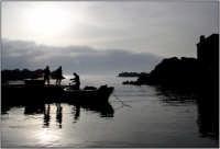 Pescatori al porticciolo di Pozzillo  - Pozzillo (4692 clic)